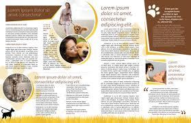 dog walker newsletter template myindesign 7 dog walker newsletter 1 7 dog walker newsletter 2
