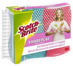"<b>Набор губок для посуды</b> Scotch-Brite ""Универсал"" 2 шт."