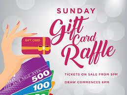 gift card raffle cronulla rsl event navigation