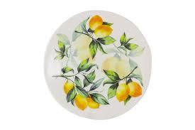 "<b>Тарелка салатная</b> ""Лимоны"" <b>Julia Vysotskaya</b> 22 см | Купить ..."