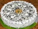 Самодельный торт с коржами