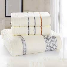 Cotton Towel Bath Towel <b>Set</b> of Three <b>Gift Box Business</b> Wedding ...
