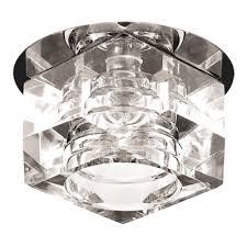 Встраиваемые <b>светильники</b> стекло: купить точечные ...