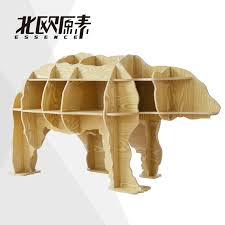 scandinavian wooden furniture. free shipping 100 wood wooden scandinavian style home decoration diy polar bear furniture side table hotel restaurant decorin coffee tables from n