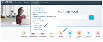 How to Upgrade or Downgrade License <b>Keys</b> in <b>My</b> VMware with ...