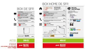 les tarifs de la box home de sfr box home de sfr pack