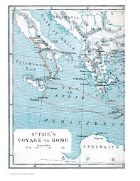 15-11 Map Showing St Paul's <b>Voyage</b> to <b>Rome</b> | BYU Studies