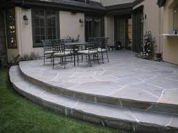 nice rock patio ideas