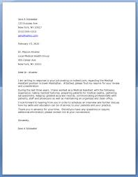 sample cover letter for medical assistant medical assistant cover letter resume s sample cover letter for medical assistant 5835