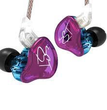 ᗕAK Original <b>KZ ZST Colorful BA</b>+DD In Ear Earphone Hybrid ...