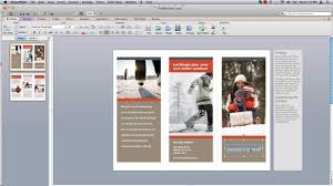 brochure ms office brochure template ms office brochure template