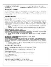 sample of a nurse resume sample resumes nurse resume or nursing school nurse resume sample