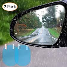 LECO <b>2pcs</b> Waterproof Anti Fog <b>Car Rear View Mirror</b> Film Anti ...