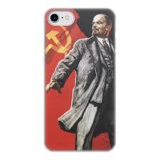 Чехол для iPhone 8, объёмная печать <b>Советский плакат</b>, 1967 г ...