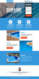 17 best ideas about pool cleaning service pool pool cleaning service lead generation landing page design