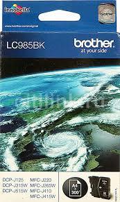 Купить <b>Картридж BROTHER LC985BK</b>, черный в интернет ...