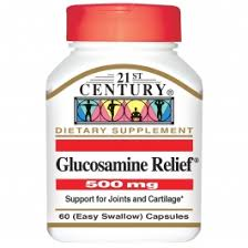 21st Century, <b>Glucosamine Relief 500mg</b> 60 Tablets