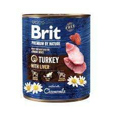 <b>Brit Premium</b> by Nature konservai šunims <b>Turkey</b> with Liver 800g ...