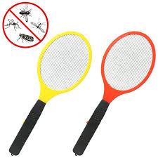 <b>Electric</b> LED Anti Mosquito <b>Fly Swatter</b> Zapper Killers Tool Racket ...