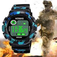 Luxury Brand Mens Sports Watches Dive 50m Digital LED ... - Vova