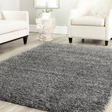 cozy solid dark grey shag rug by safavieh rugs on wooden floor plus white sofa set charming shag rugs