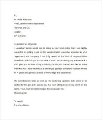 executive administrative assistant cover letter executive assistant cover letter