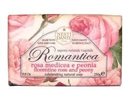 NESTI DANTE <b>ROMANTICA Florentine</b> Rose & Peony - <b>Мыло</b> ...