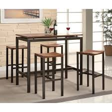 tables bar height great dining table set