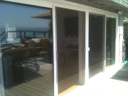 large sliding patio doors:  large screen for sliding patio door in beautiful design t m l f security