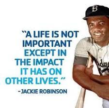 Jackie Robinson on Pinterest | Baseball Cards, Dodgers Baseball ... via Relatably.com