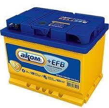 Купить аккумулятор <b>АКОМ АКОМ</b>+<b>EFB</b> в Санкт-Петербурге с ...