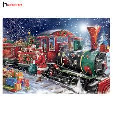 Huacan 5D <b>DIY Diamond Painting Christmas</b> Full Square ...