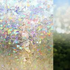 <b>RABBITGOO 3D</b> STAIN <b>glass window</b> film clings Privacy <b>Crystal</b> ...