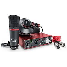 <b>Focusrite Scarlett 2i2</b> Studio 2nd Gen « Звуковая карта