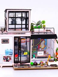"""<b>Румбокс</b>. <b>Набор</b> для создания миниатюры """"Городская студия ..."""