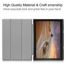 Lenovo Tab E10 <b>Case</b>, EpicGadget Slim Lightweight Smart <b>Case Tri</b> ...