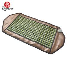 BYRIVER Far Infrared Electric Heating Pad <b>Jade</b> Tourmaline ...