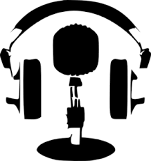 Image result for headphones microphone cartoon