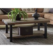 alaterre pomona reclaimed wood and metal 42 inch coffee table affordable reclaimed wood furniture