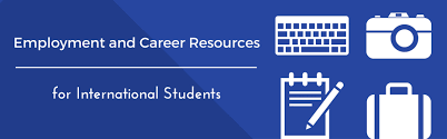 international student employment career resources