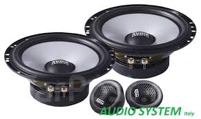 <b>2</b>-<b>компонентная акустика Audio System</b> Italy AS650C/ 16.5см ...
