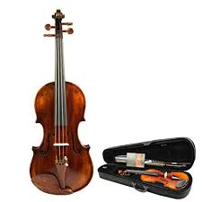 Advanced Solid Spruce Wood <b>Handmade</b> Fiddle Kit <b>4/4 Full</b> Size ...