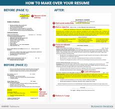 how to rewrite your resume business insider skye gould business insider
