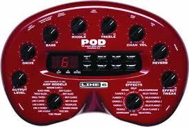 Обзор <b>гитарного процессора</b> эффектов <b>Line 6</b> POD 2.0