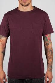 <b>Футболка TURBOKOLOR</b> Pocket Slim Fit (Heather-Red, L ...