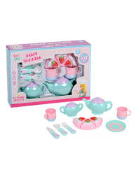 """<b>Набор</b> """"Посудка-Чайный сервиз"""" в коробке. <b>GIRL'S CLUB</b> ..."""