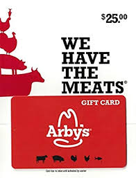 Amazon.com: Arbys Gift Card $25: Gift Cards