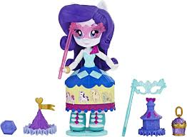My Little Pony <b>Equestria Girls Мини</b>-<b>кукла</b> Rarity Costume Creations ...