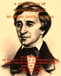 henry david books found a collection of favorite works by henry thoreau a collection of favorite works by henry david thoreau