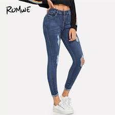 women casual high waist skirt mid length jeans loose half length cowboy